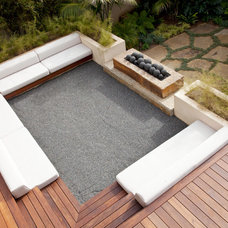 Contemporary Patio by Maienza-Wilson Interior Design + Architecture