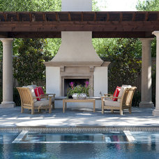 Mediterranean Patio by V Fine Homes