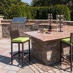 Tuscan Backyard Retreat Traditional Patio Toronto