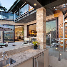 Contemporary Patio by Kollin Altomare Architects