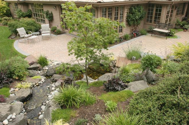 Contemporary Patio by Classic Nursery & Landscape Co. / Alan Burke, asla
