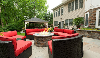 Morganville NJ Residence Blue Stone Patio