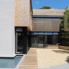 Modern Patio by Blaze Makoid Architecture