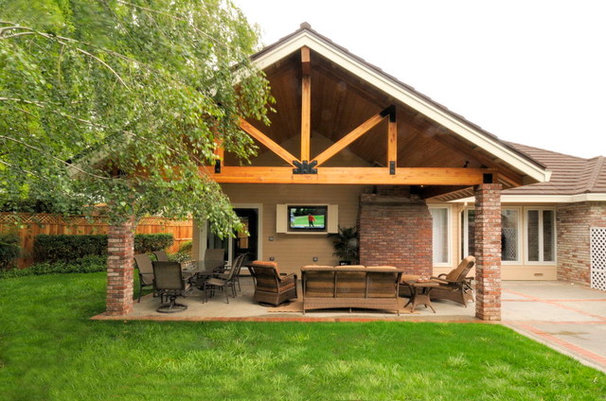 Traditional Patio by Morse Remodeling, Inc. and Custom Homes