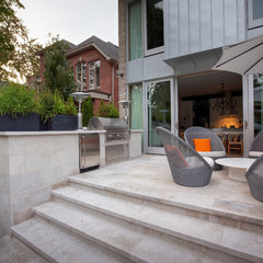 contemporary patio by Pro-land Landscape Construction