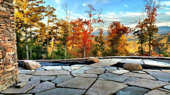 Mountain Escape Flagstone Patio and Water Feature