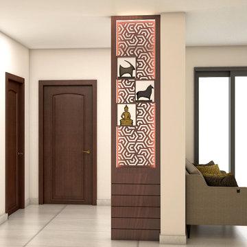Mr.Prince, 2BHK Apartment interior design   Iyyapanthangal, Chennai