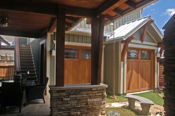 Traditional Patio by Cornerstone Architects