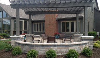 Muirfield patio and pergola