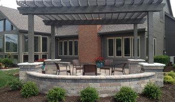 Muirfield patio and pergola