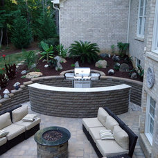 Contemporary Patio by Vedic Gardens & Nursery, LLC
