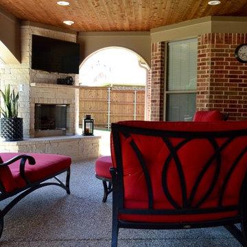 Murphy - Outdoor Living & Kitchen Area