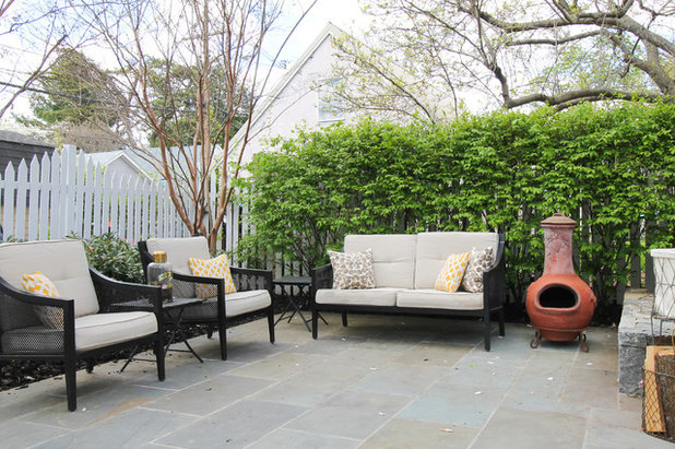 Transitional Patio by Michaela Dodd