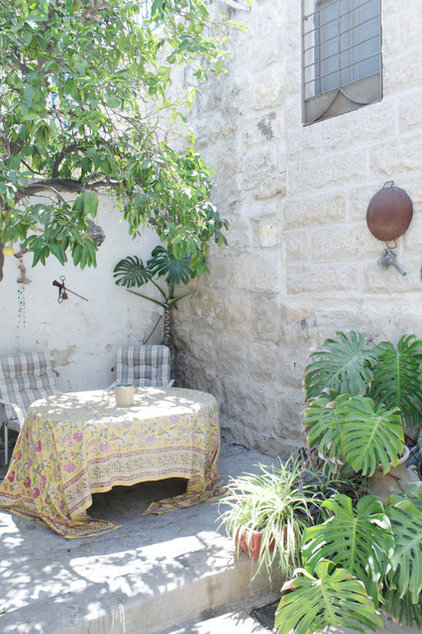 Mediterranean Patio by Esther Hershcovich