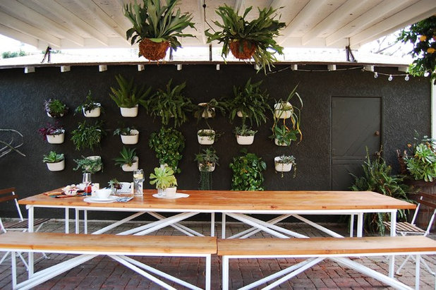 Eclectic Patio by Corynne Pless