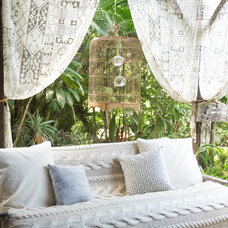 Beach Style Patio by Ashley Camper Photography