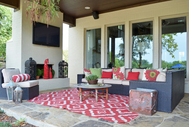 Eclectic Patio by Sarah Greenman