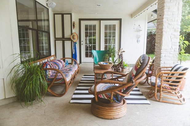 Eclectic Patio by Heather Banks
