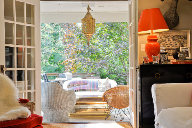 Eclectic Patio by CM Glover