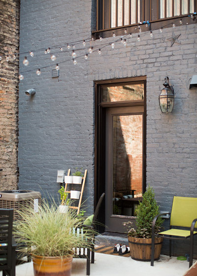 Industrial Patio by Parisi Images
