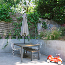 Midcentury Patio by Nanette Wong