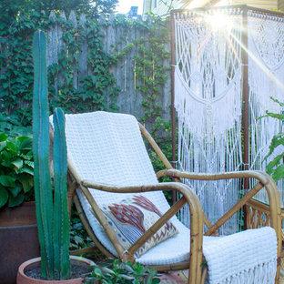 Foto di un patio o portico bohémian