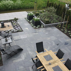 Contemporary Patio by Holly Marder