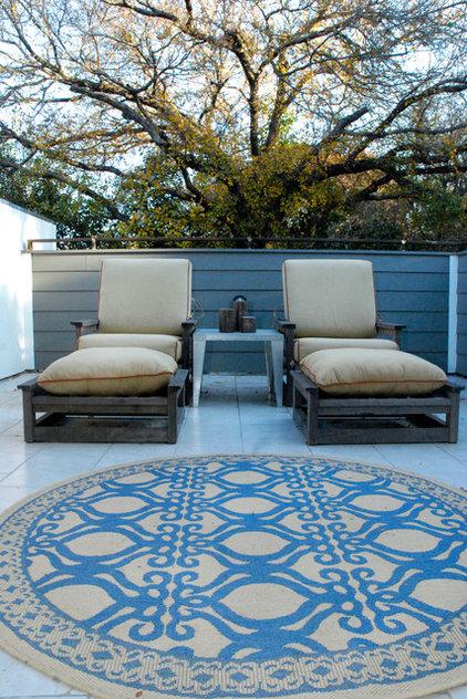 contemporary patio by Kara Mosher