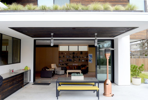 Unique Contemporary Patio by Kara Mosher