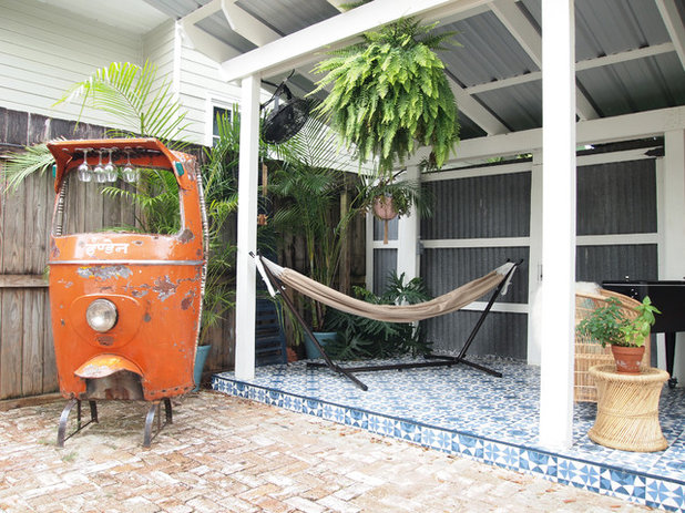Eclectic Patio by Kayla Stark