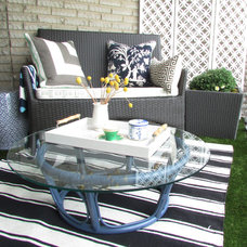 Contemporary Patio by Jenn Hannotte / Hannotte Interiors