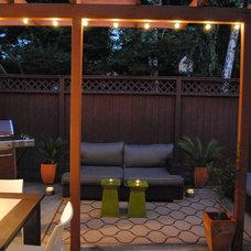Contemporary Patio my patio - before