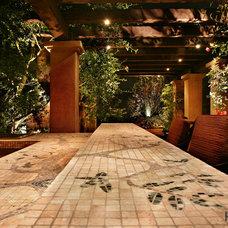 Asian Patio by Urban Landscape