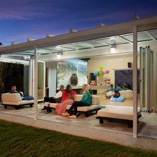 Contemporary Patio by NanaWall
