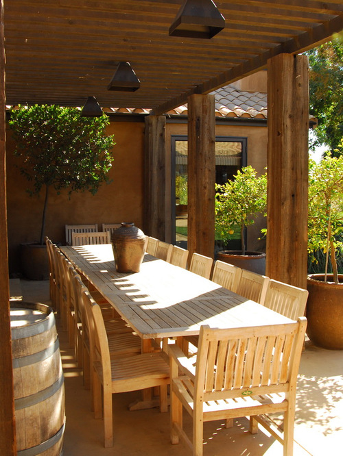 outdoor dining table houzz