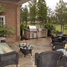 Traditional Patio by Napier Signature Homes & Renovations
