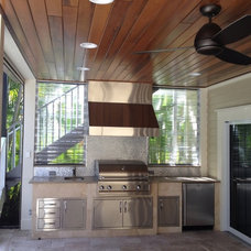 Contemporary Patio by Keith Joseph, Design-Build