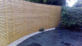 Natural Stone & Cladding Walls - Back Garden