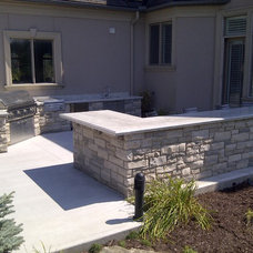 Contemporary Patio by Heritage Stoneworks Ltd.