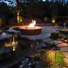 Traditional Patio by Mile High Landscaping