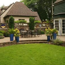 Eclectic Patio by Creative Garden Spaces