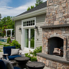 Backyard Patio Space Transitional Patio Seattle By