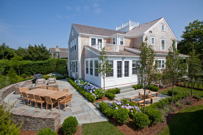 Beach Style Patio by Cheney Brothers Building & Renovation LLC