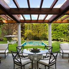 Traditional Patio by David Scott Parker Architects Llc
