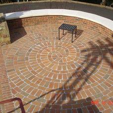 Eclectic Patio by Leff Construction Design/Build