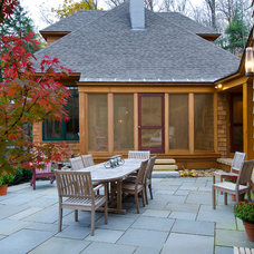 Traditional Patio by Sheldon Pennoyer Architects