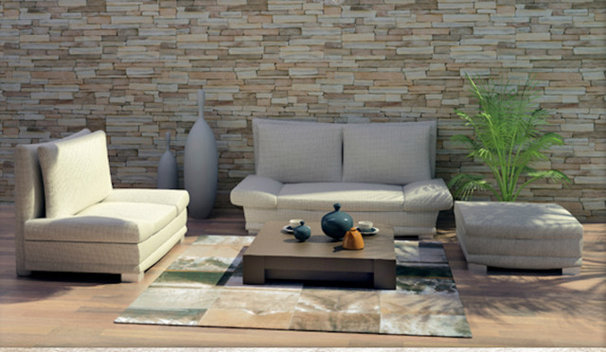 Contemporary Patio by JC STONE & TILE INC.