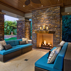 Contemporary Patio by David A. Kaech & Associates, Inc.