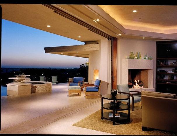Modern Patio by Connie McCreight Interior Design