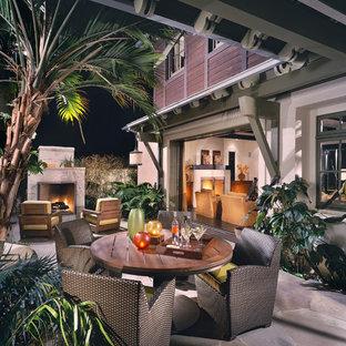 Island style patio photo in Orange County